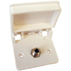 RG-6 Single Exterior TV Receptacle